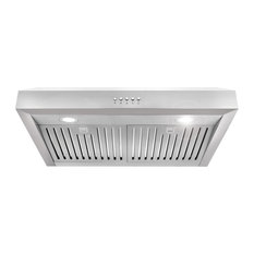 Dollier Under-Cabinet Range Hood Led Lights and 2 Permanent Filters