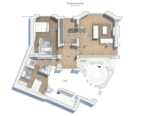 Appartement Haussmannien 150m2