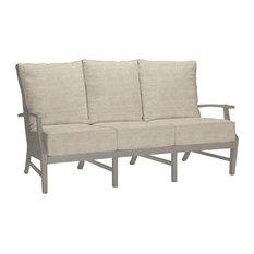 Summer Classics Croquet Sofa, Linen Dove Cushion