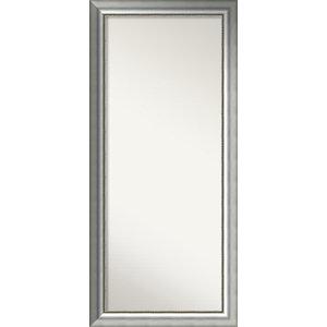 "Wall Mirror,, Vegas Burnished Silver:25""x55"""