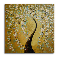Shimmering bow Hand Painted Oil Painting