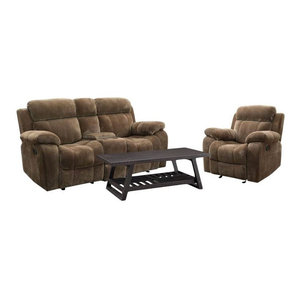Lizabelle Reclining Sofa Transitional Sofas by HedgeApple