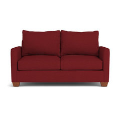 Tuxedo Apartment Size Sofa Berry 69-inchx39-inchx30-inch