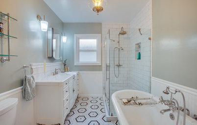 Bathroom of the Week: Brighter With a Vintage Vibe