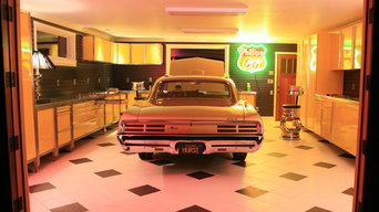 Remodel of One-Car Garage into Showroom