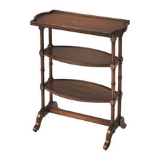 Butler Specialty Company   Butler Anton Antique Cherry Side Table   Side  Tables And End Tables