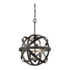 Savoy House - Savoy House Bassett English Bronze Outdoor Hanging Lantern - Outdoor Hanging Lights