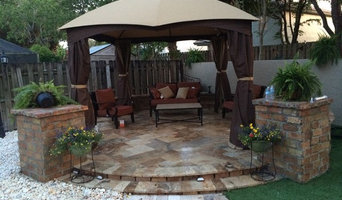 Custom Stone Gazebo in Delray Beach, FL