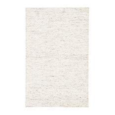 Jaipur Living Carvings Handmade Solid White/Dark Gray Area Rug, 2'x3'