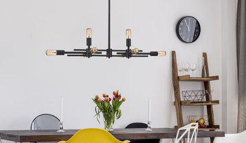 Bold and Trendy Lighting