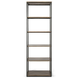 Industrial Bookcases by Houzz
