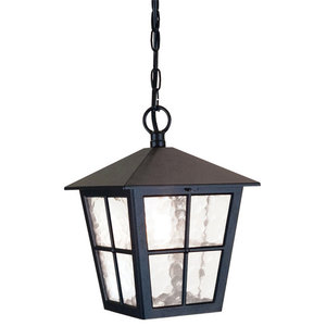 Traditional British Style Exterior Porch Chain Lantern