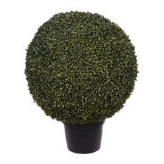 """Artificial 24"""" Boxwood Ball Topiary"""