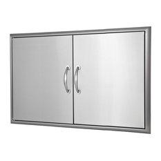 """Blaze 40"""" Double Access Door With Paper Towel Dispenser"""