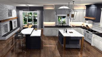 Modernizing a Tuscan style kitchen.....