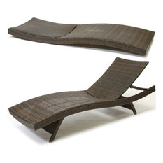 Lakeport Outdoor Adjustable Chaise Lounge Chairs, Set of 2