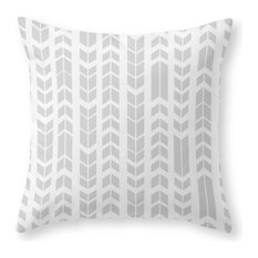 """Society6 Black and White Az, Throw Pillow, Indoor Cover, 16""""x16"""", Pillow Insert"""