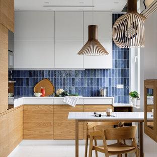 Источник вдохновения для домашнего уюта: кухня в скандинавском стиле