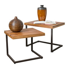 Amazing GDFStudio   Blaine 2 Piece Nesting Table Set   Side Tables And End Tables