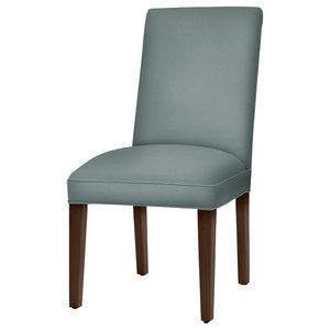 Preston Parsons Dining Chair With Brown Cherry Tapered