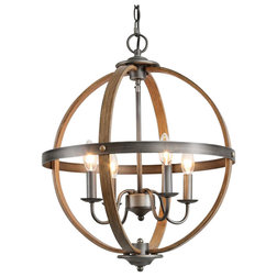Farmhouse Chandeliers by LNC