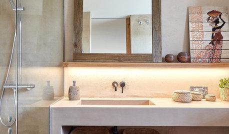 7 ideas originales de los baños de las casas que hemos visitado
