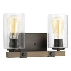 Barnes Mill Collection 2-Light Bath and Vanity, Antique Bronze