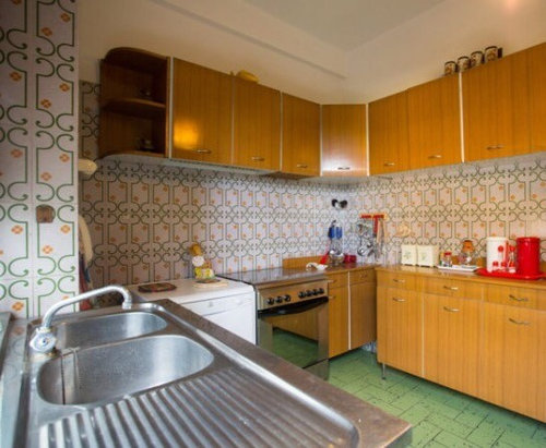 Rinnovamento conservativo: cucina anni 70