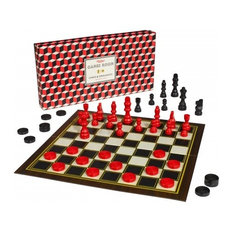 Chess & Checkers Set by Howkapow