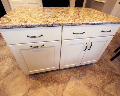 Century Home White Kitchen Remodel ~ Akron, OH - Storage Cabinets