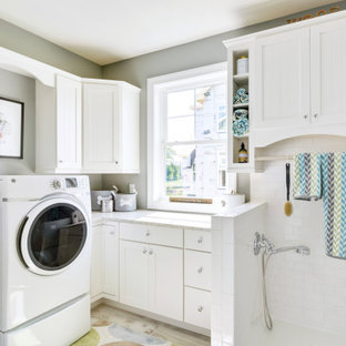 Inspiration för klassiska tvättstugor