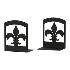 Wrought Iron Book Ends