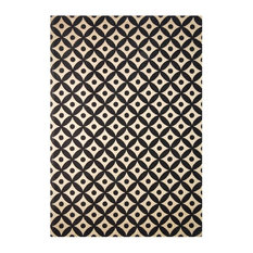Scandy Black and Brown Area Rug, 120x170 cm