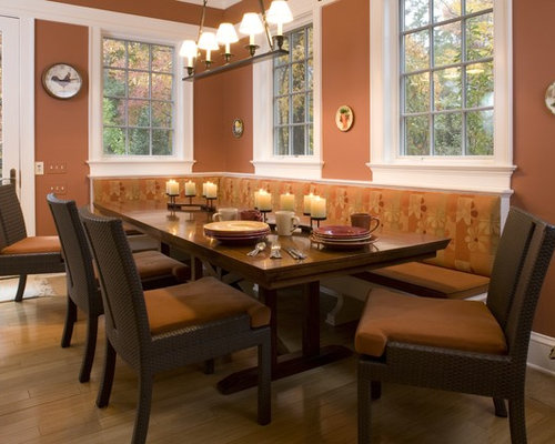 Dining room banquette sets   decor