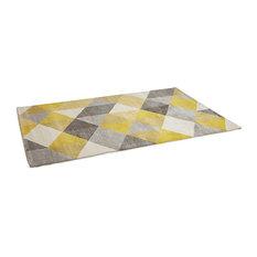 Muoto Rug, Yellow, 230x160 cm