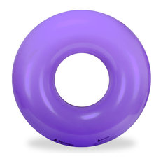Bright Purple Inflatable Premium Quality Giant Round Tube Pool Float