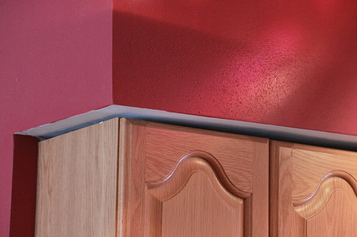 Kitchen Cabinet Soffit Gap