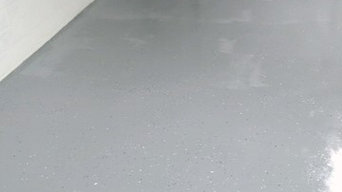 Epoxy Garage Flooring - After
