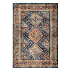 "Palmetto Living by Orian Alexandra Olympus Area Rug, Navy, 7'10""x10'10"""