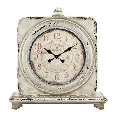 stonebriar victoria station square tabletop clock desk and mantel clocks