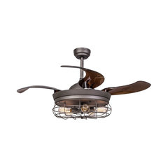 50 Most Popular Industrial Ceiling Fans For 2018 Houzz