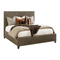 Woven Platform Bed 6/0 Ca King