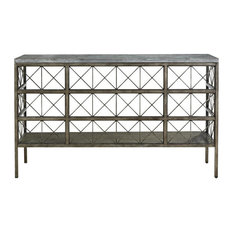 Universal Sojourn Console Table Metal Finish