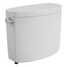 Toto ST454E#01 Cotton White Drake II Two-Piece Toilet Tank Only, 1.28 GPF