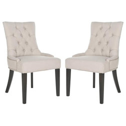 Transitional Dining Chairs by Safavieh