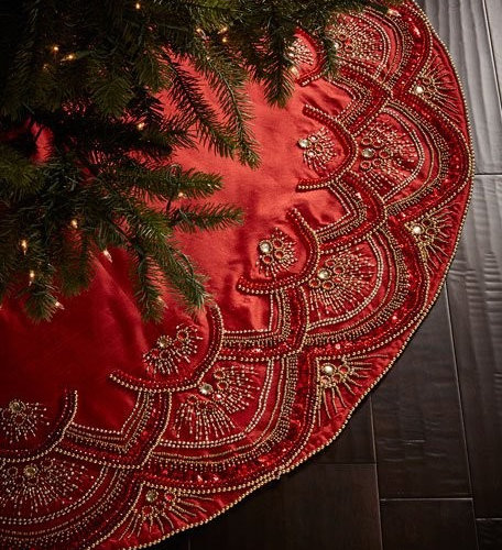 KIM SEYBERT CHRISTMAS TREE SKIRTS