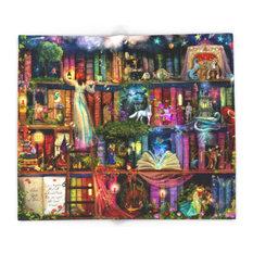 """Whimsy Trove, Treasure Hunt Blanket, 51""""x60"""""""