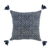 """Taka 100% Cotton 20"""" Throw Pillow, Blue by Kosas Home"""