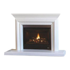 """Superior DRT3000 33"""" Traditional Rear Vent Fireplace, Natural Gas"""