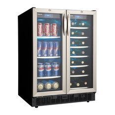 Danby DBC2760 24 Inch Wide 27 Bottle Capacity Built-In Beverage Center with Dua